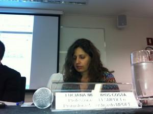 Drª Luciana Medeiros Costa, Professora da FESMPDFT e Promotora de Justiça do MPDFT.