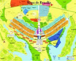 Mapa de Brasília-DF