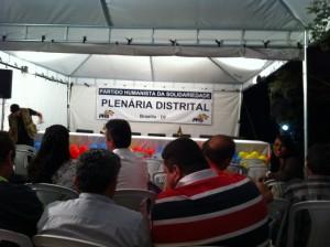 1ª plenária do PHS - Partido Humanista da Solidariedade