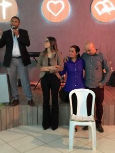 O nosso Pastor João Rodrigues, apresentou as considerações finais, agradecendo ao suporte dos três pastores como a Pastora ADRIELA, Pastor MAURÍCIO e sua esposa Pastora LUCIENE, que com muito carinho nos prestou.